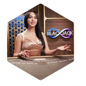 Spela Live Infinite Blackjack på Maria Casino!