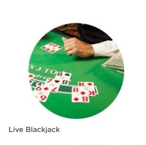 Lira Live Blackjack hos Mr Green!